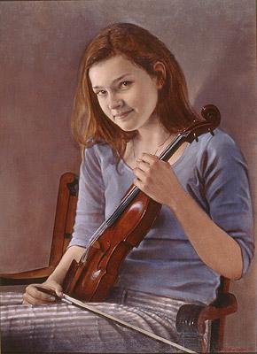 Ms. Janine Jansen, violinist