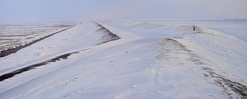 Dijk in de sneeuw 2